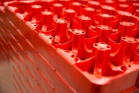 Flaske trays til drikkevarer