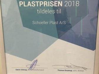Schoeller Plast vinder Plastprisen 2018