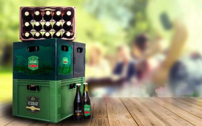15-styks-ølkassen! Let. Bekvem. Bæredygtig.